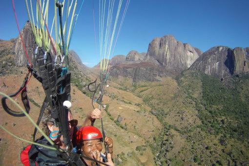 Parachutisme - Activités Tsarasoa Lodge Madagascar