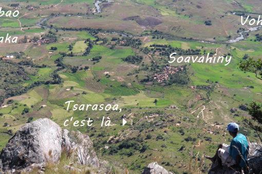 Localisation Tsarasoa Lodge Madagascar