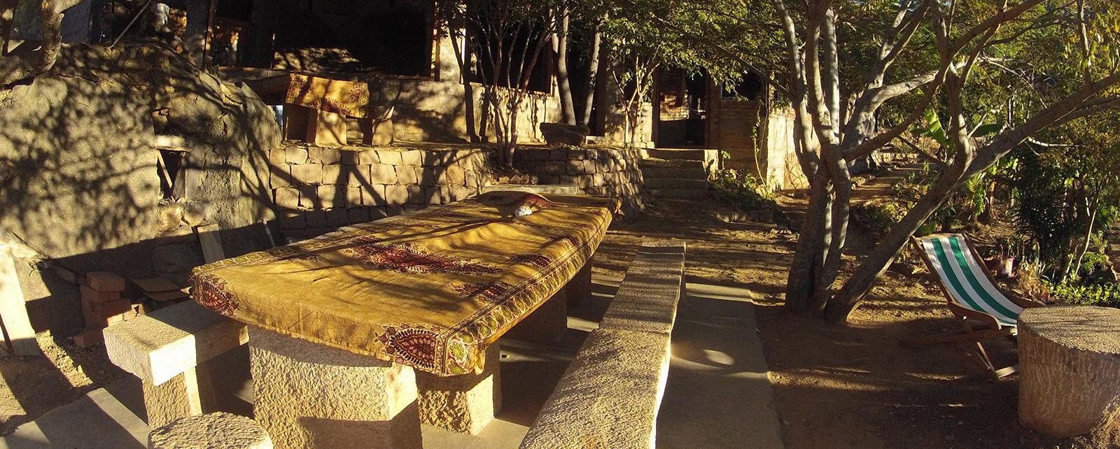 Tsarasoa Lodge Madagascar - Terrasse