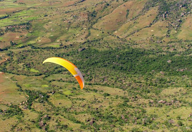 Parapente - Activité du Tsarasoa Lodge Madagascar