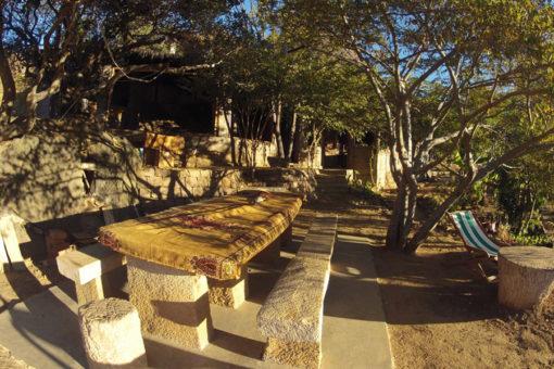 Terasse - Tsarasoa Lodge Madagascar